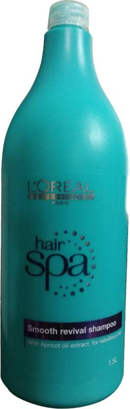 L'Oreal Paris Hair Spa Smooth Revival Shampoo (1500 ml)