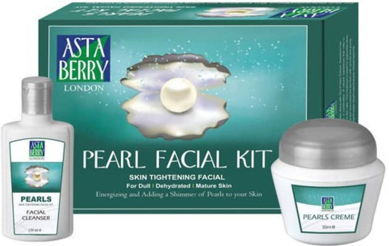 Astaberry Pearl Facial Kit 385 g (Set of 2)