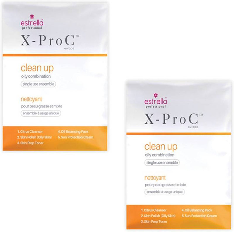 Estrella X-Pro Clean Up Oil Combination Kit (Pack of 2) 20 g (Set of 2)