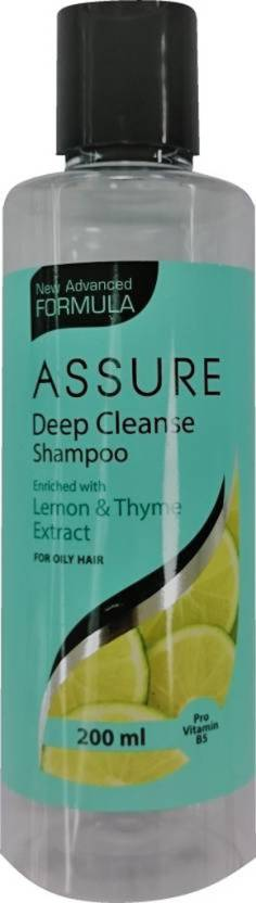 Assure Deep Cleanse Shampoo with Lemon & Thyme Extract (200 ml)