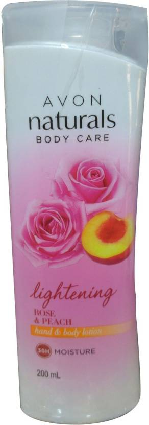 Avon Naturals Body Care Rose & Peach hand & body lotion (200 ml)