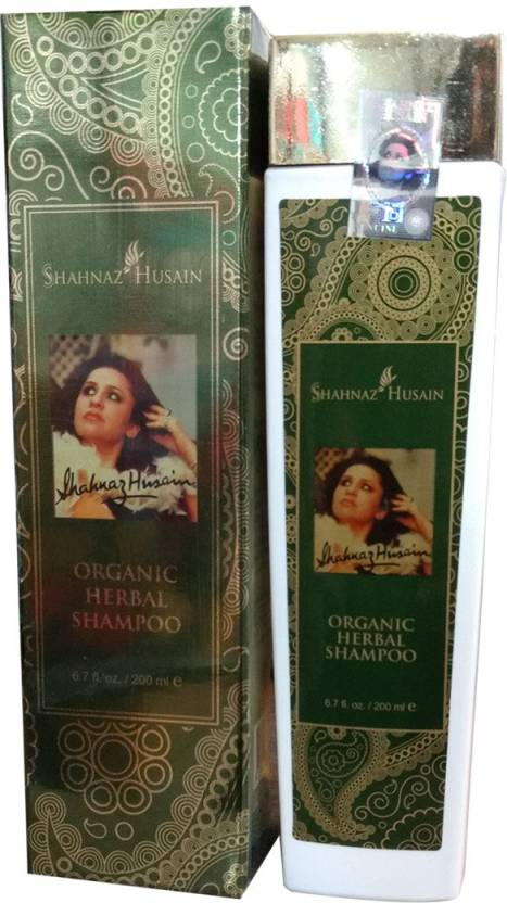 Shahnaz Husain Organic Herbal Shampoo (200 ml)