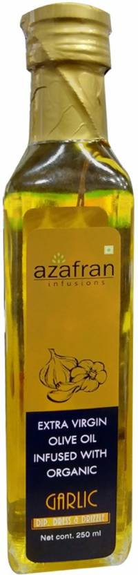Azafran Garlic Extra Virgin Olive Oil (250 ml)