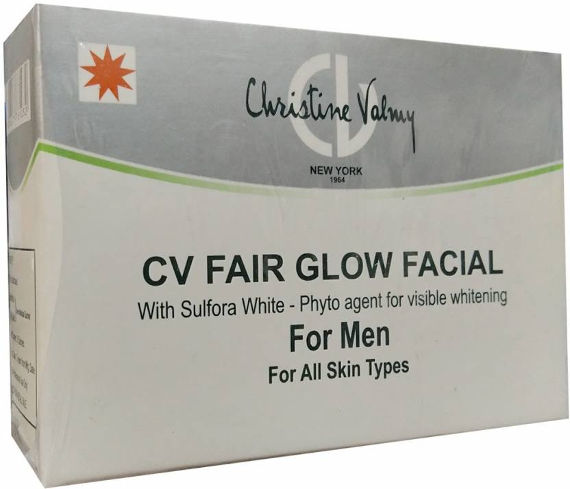 Christine Valmy CV Fair Glow Facial (Men) 29 ml (Set of 6)
