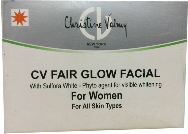 Christine Valmy CV Fair Glow Facial (women) 29 ml (Set of 6)