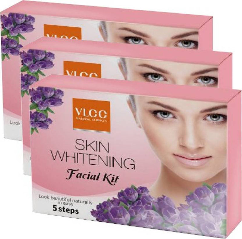 VLCC Skin Whitening Facial Kit pack of 3 75 g (Set of 3)