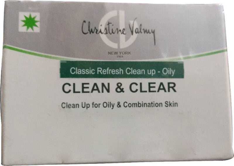 Christine Valmy Clean and Clear Clean Up for Oily and Combination Skin 30 g (Set of 3)