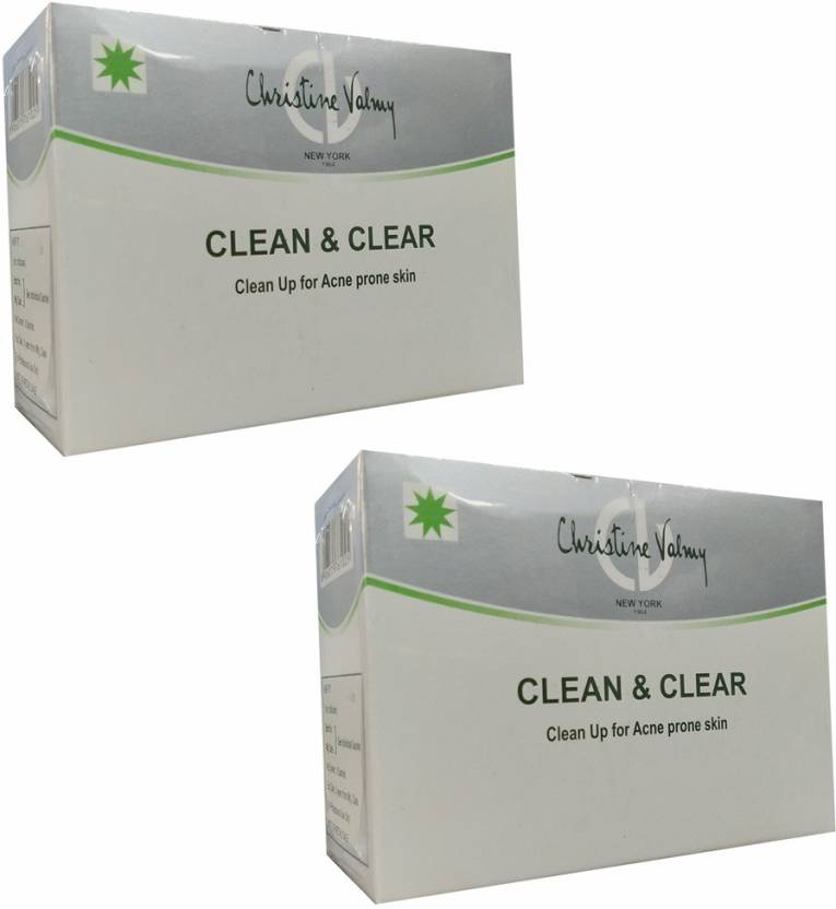 Christine Valmy Clean & Clear Clean Up For Acne Prone Skin 30 ml (Set of 2)