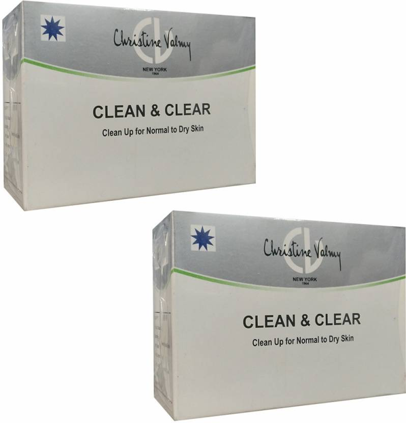 Christine Valmy Clean & Clear Clean Up for Normal to Dry Skin 30 ml (Set of 2)