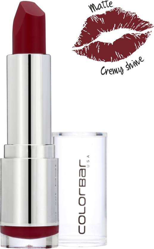 Colorbar Velvet Matte Lipstick-Stay T.R.U.E. (Brown)