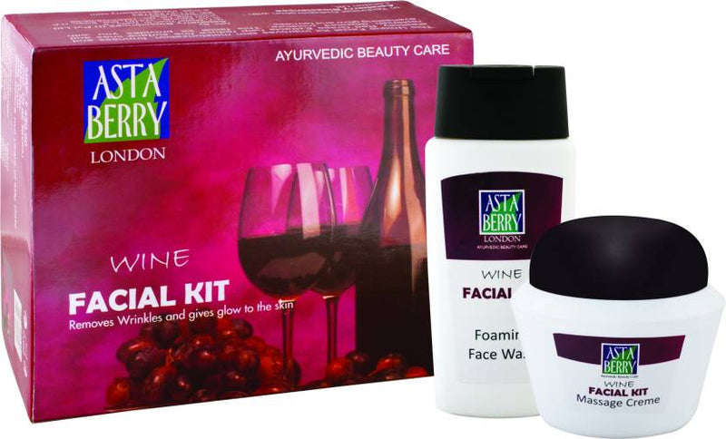 Astaberry Big Wine Facial Kit 50 g (Set of 4)
