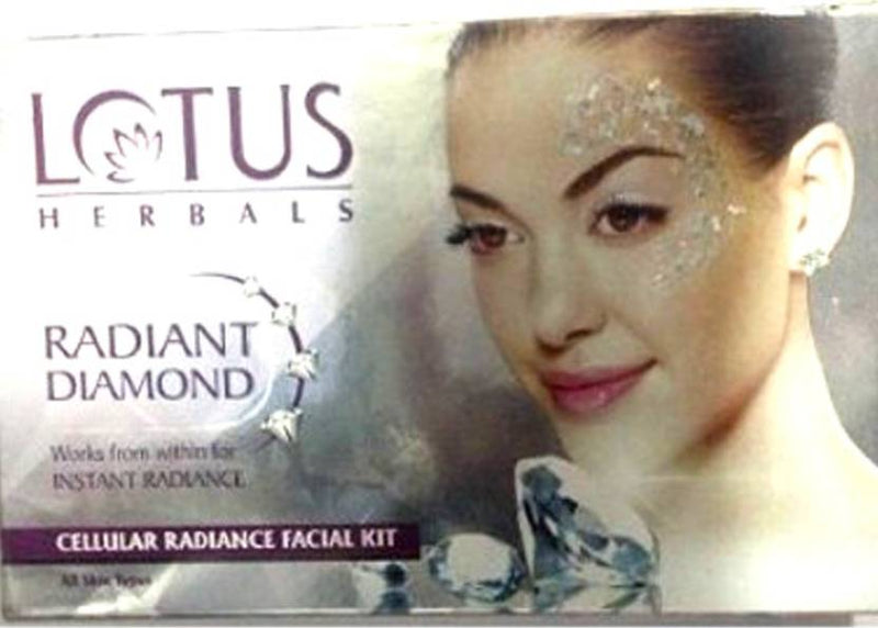 Lotus Radiant Diamond Kit 148 g (Set of 4)
