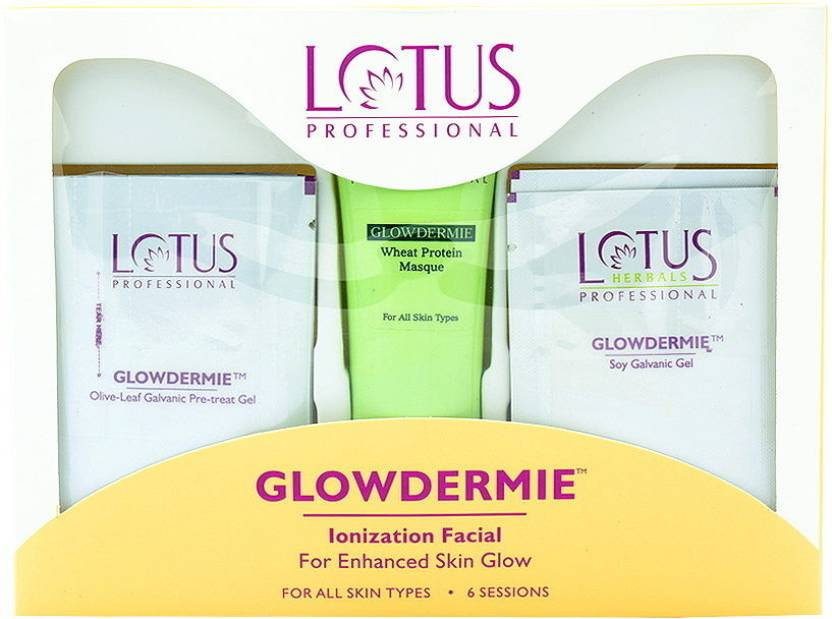Lotus Professional Glowdermie Ionization Facial Kit 80 g (Set of 4)