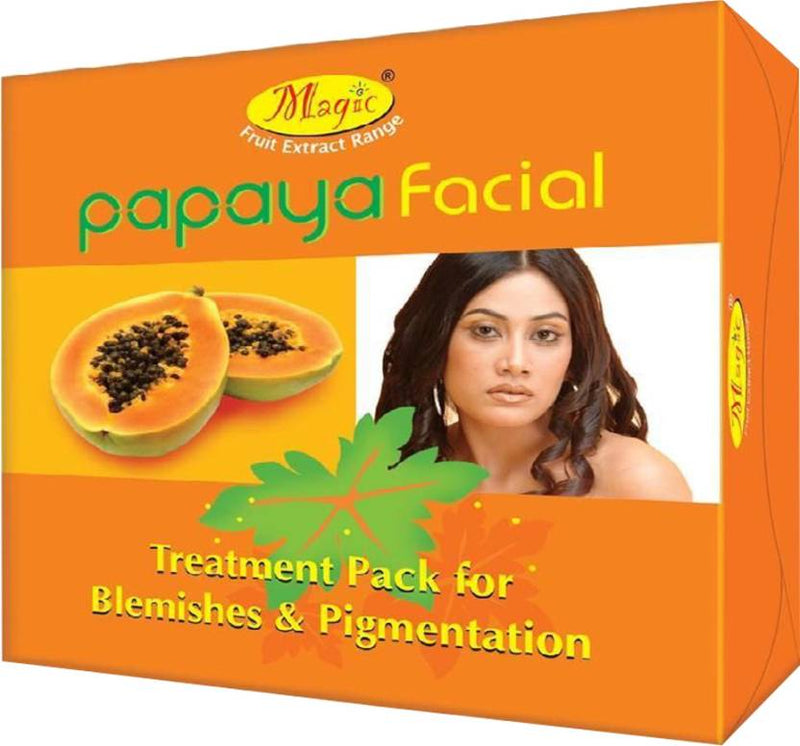 Nature's Papaya Facial Treatment Pack 425 g (Set of 3)
