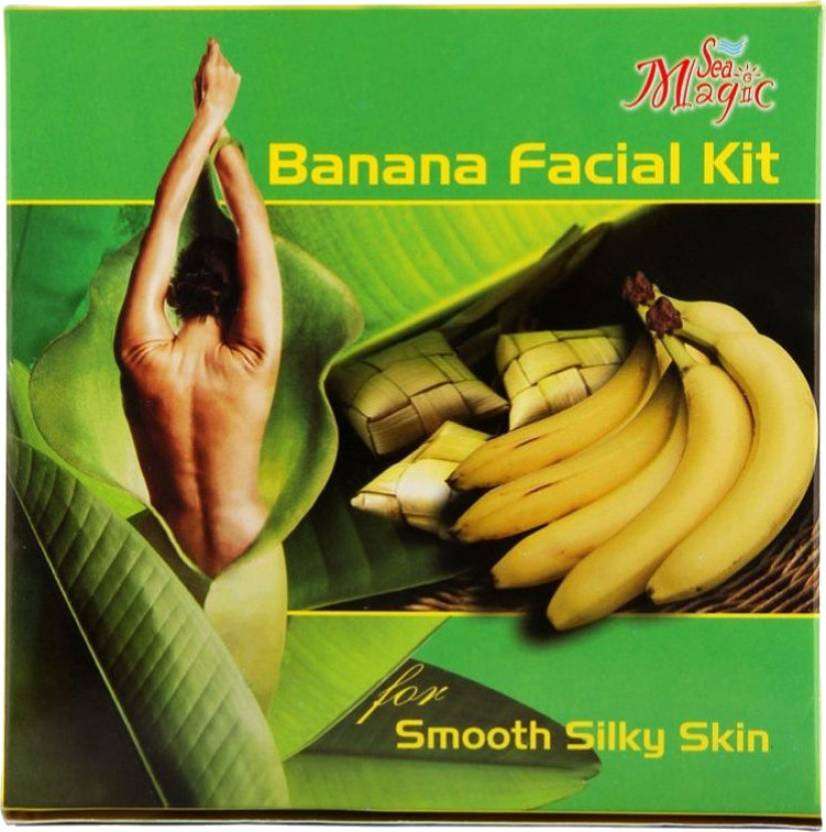 Nature's Banana Facial Kit (Set of 4)