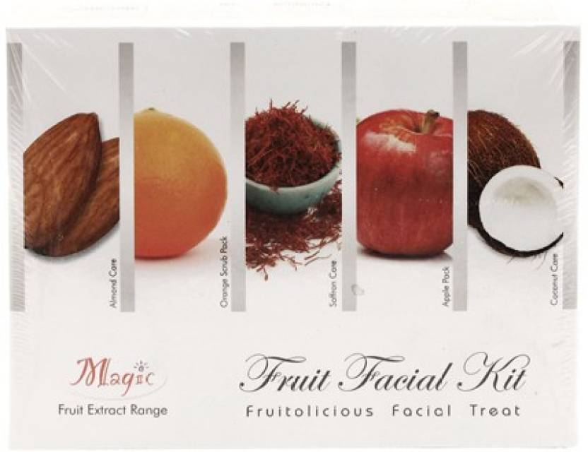 Nature's Essence Magic Fruit Facial Kit 240 ml (Set of 4)