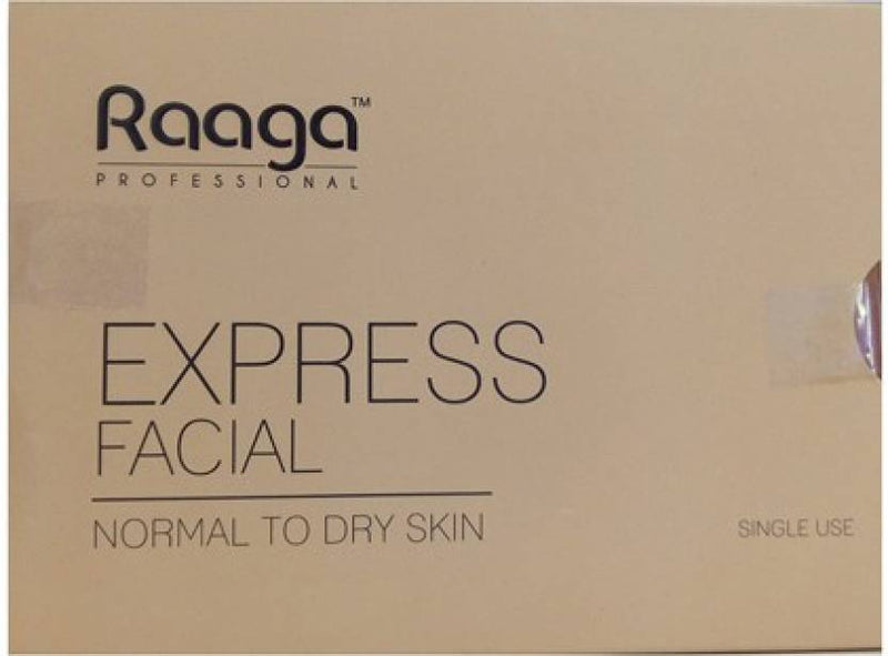 Raaga Professional Express Facial Kit Normal to Dry Skin 32 g (Set of 4)