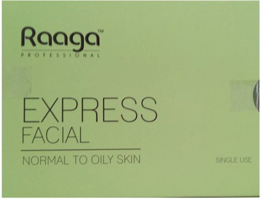 Raaga Professional Express Facial Kit Normal to Oily Skin 32 g (Set of 4)