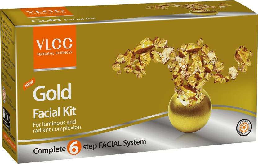 VLCC Gold Facial Kit 60 g (Set of 4)