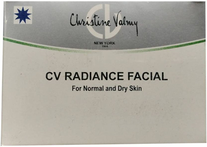 Christine Valmy CV Radiance Facial (Normal and Dry Skin) 40 ml (Set of 9)