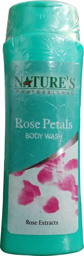 Natures Professional Rose Petals Body Wash (400 ml)