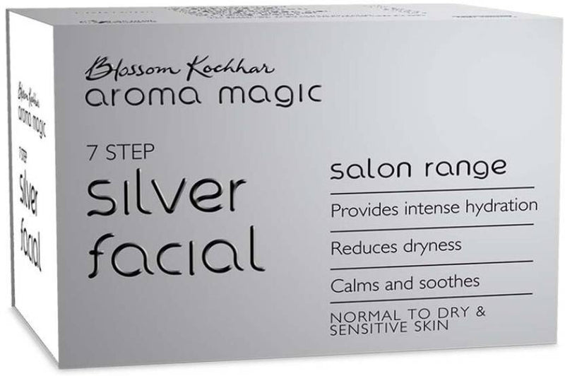 Aroma Magic Silver Facial Kit 450 g (Set of 7)