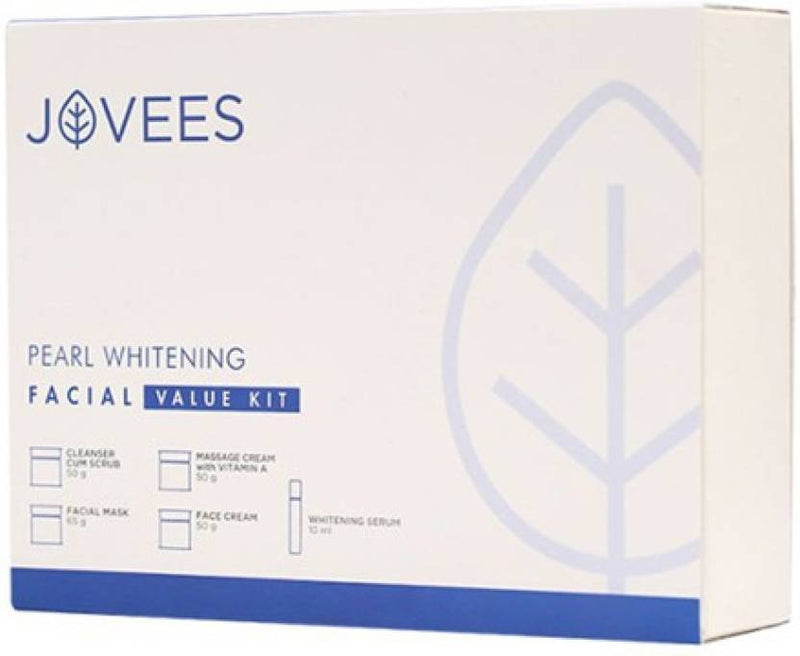 Jovees Pearl Whitening Facial Kit 225 g (Set of 5)