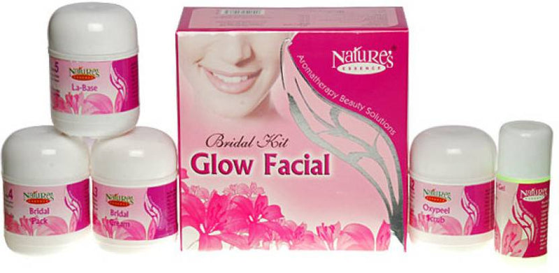 Nature's Bridal Kit - Glow Facial 220 g (Set of 5)