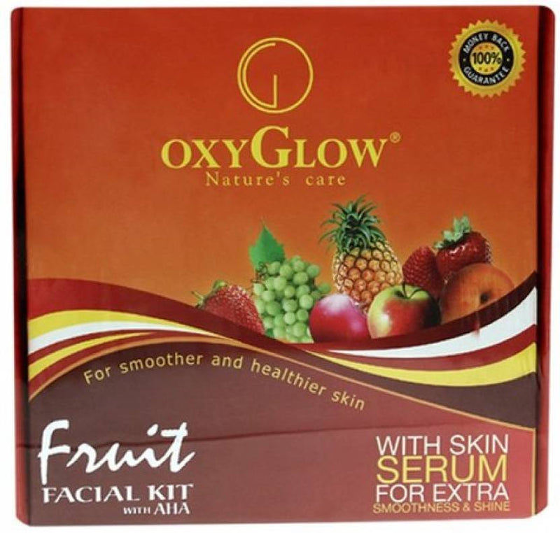 Oxyglow Fruit Facial Kit 165 g (Set of 5)