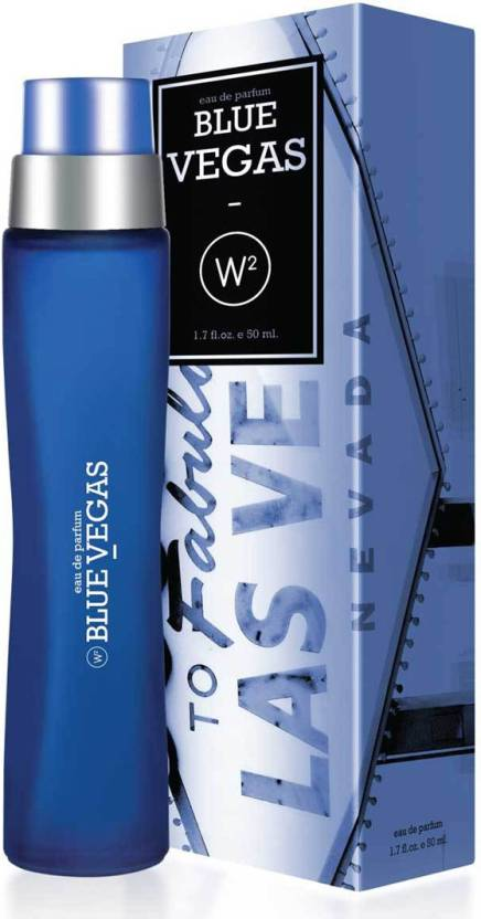 W2 Blue Vegas Eau de Parfum  -  50 ml (For Men & Women)
