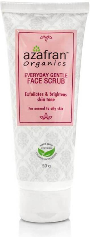 Azafran Everyday Gentle Face  Scrub (50 g)
