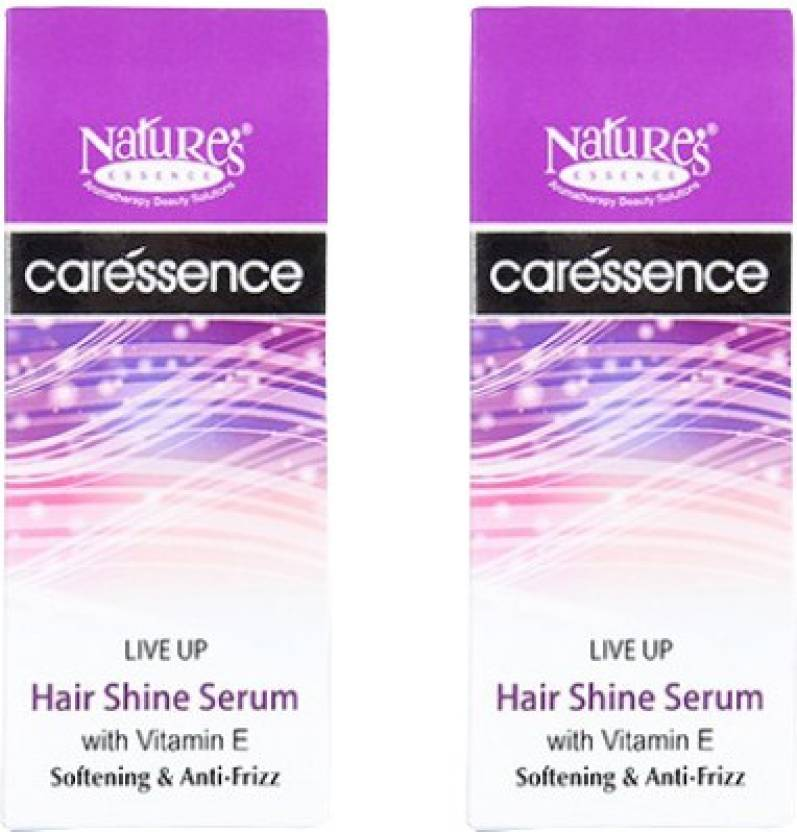 Nature'S Live Up Hair Shine Serum Pack of 2 (50 ml)