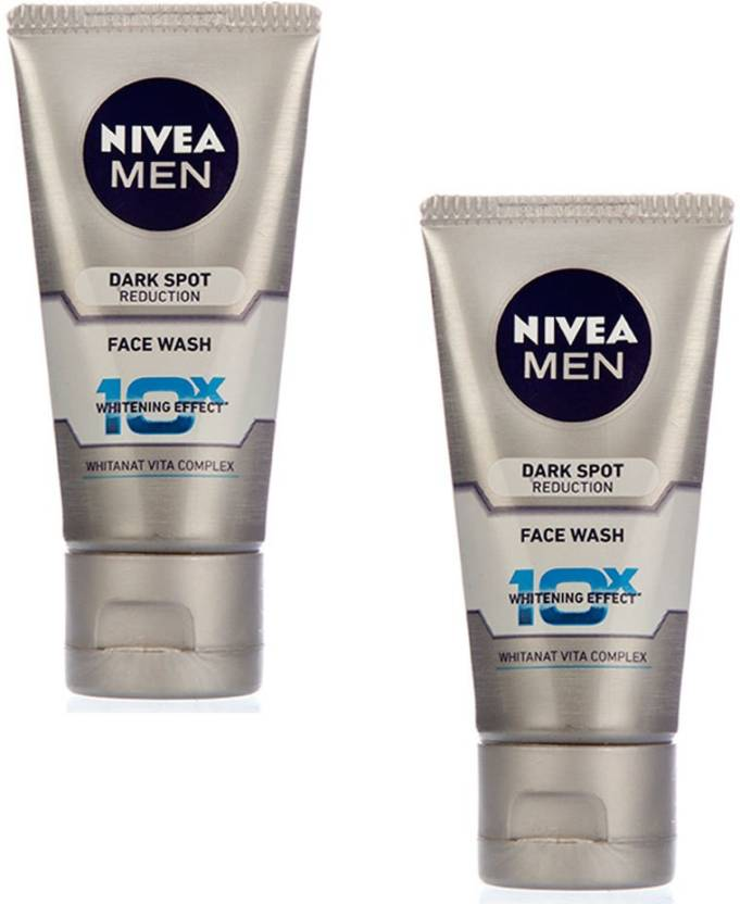 Nivea Men Dark Spot Reduction (Pack of 2)  Face Wash (50 g)
