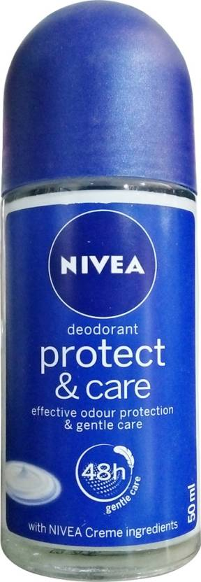 Nivea Protect and Care Roll On Deodorant Roll-on  -  For Men & Women (50 ml)