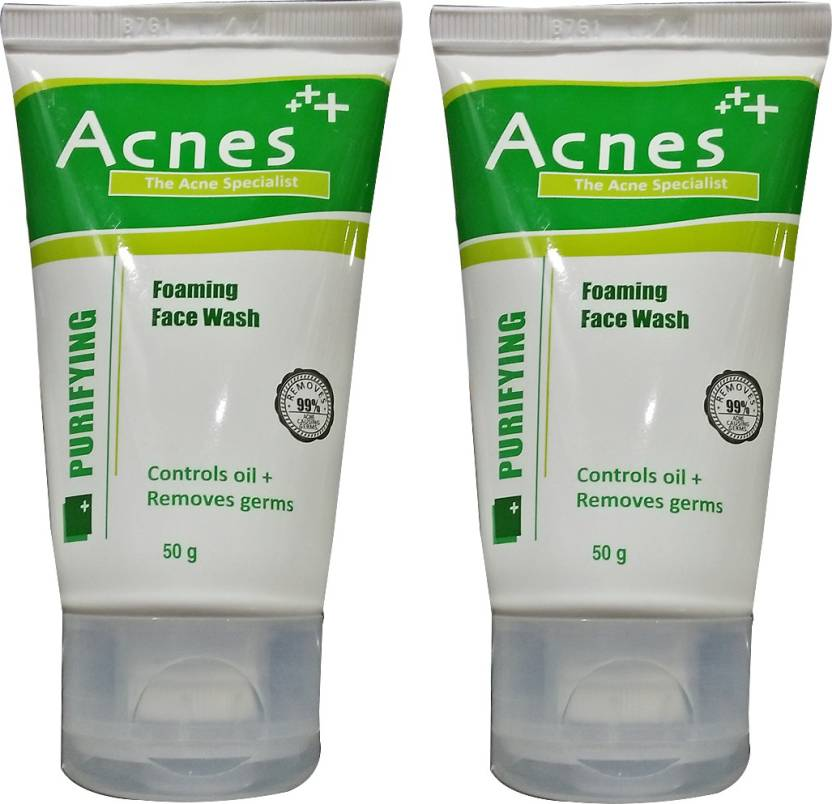 Acnes Purifying Foaming Pack of 2 Face Wash (50 g)