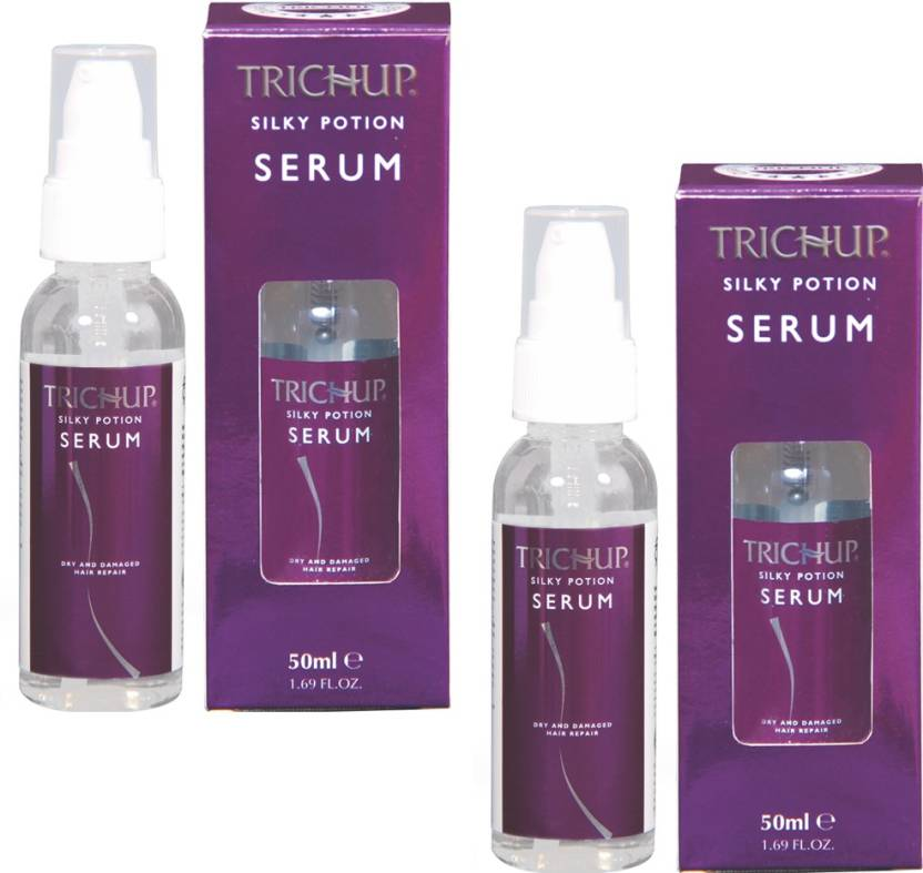 Trichup Silk Potion Serum Pack of 2 (50 ml)