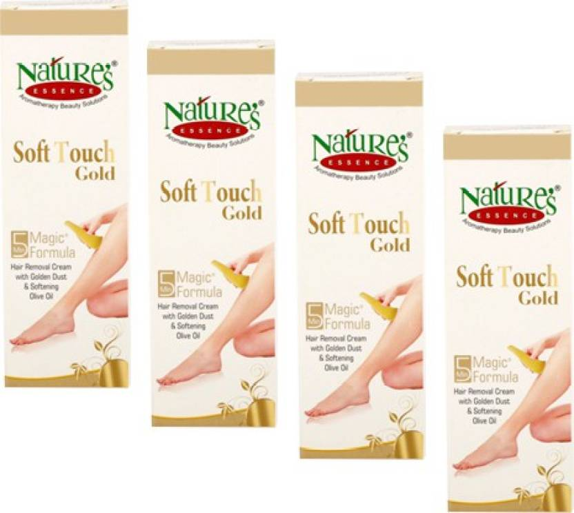 Nature'S Soft Touch Gold Pack of 4 Cream (50 g)