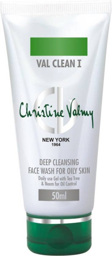 Christine Valmy Val Clean 1 Deep Cleansing  Face Wash (50 ml)