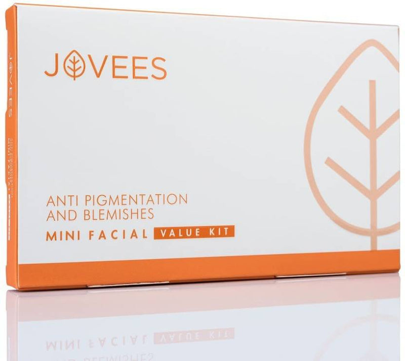 Jovees Anti Pigmentation and Blemishes Mini Facial Kit 53 g (Set of 5)
