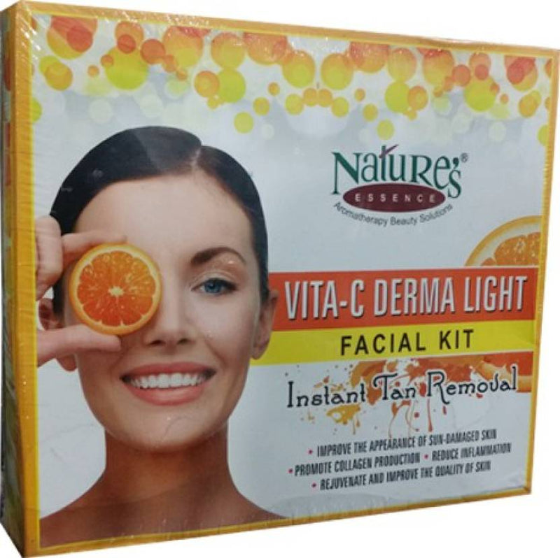 Nature's Vita -C Derma Light Facial Kit 550 g (Set of 5)