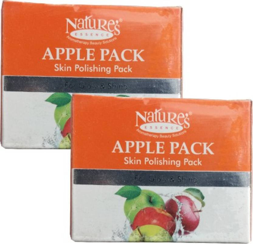 Nature's Apple Pack Skin Polishing Pack of 2 (60 g)