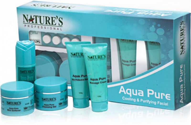 Nature's Professional Aqua Pure Cooling and Purifying Facial 600 ml (Set of 5)
