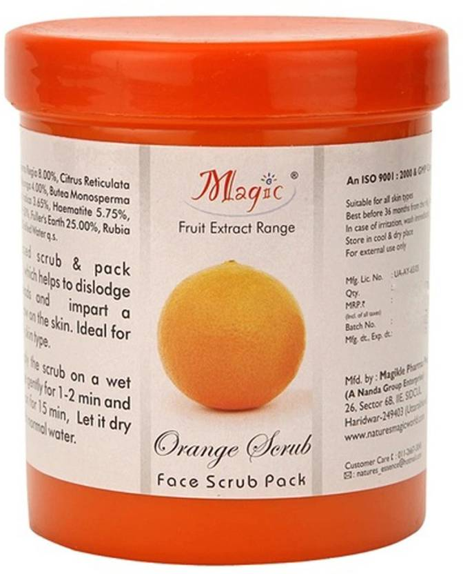 Nature's Orange Scrub Face Scrub Pack (600 g)