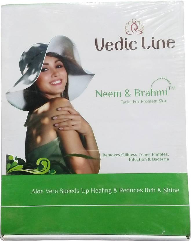 Vedic Line Neem & Brahmi Facial Kit 620 ml (Set of 6)