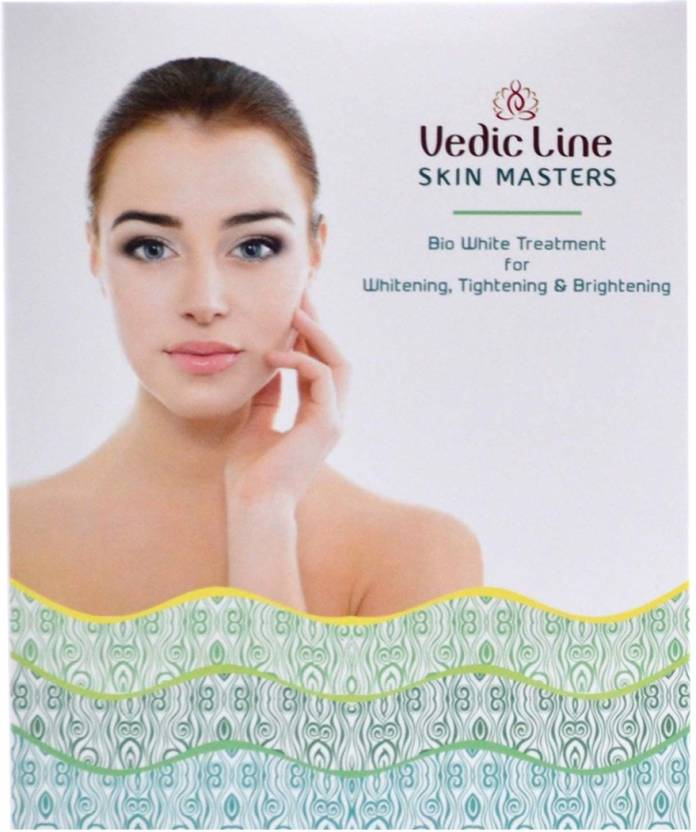 Vedic Line Skin Masters Bio White Treatment( For Normal to Oily Skin ) 70 ml (Set of 6)