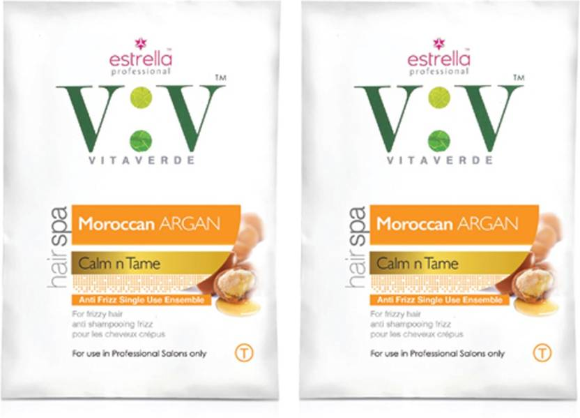 Estrella Vita Verde Hair Spa - Moroccan Argan Pack Of 2 (72 g)
