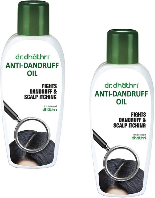 Dr. Dhathri Anti-Dandruff Oil (Pack of 2) Hair Oil (75 ml)