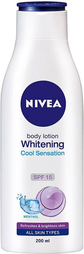 Nivea Whitening Cool Sensation Body Lotion SPF 15 (200 ml)