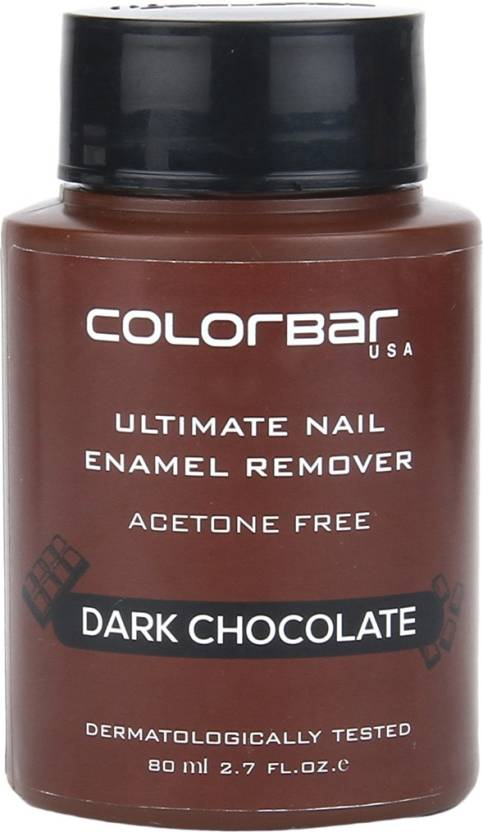 Colorbar Ultimate Nail Enamel Remover Dark Chocolate (80 ml)