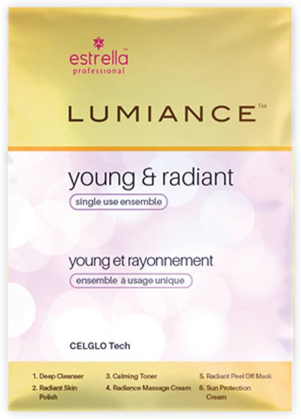 Estrella Lumiance Young & Radiant Sinfle Use Kit 90 g